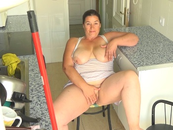 Here's YOUR HORNY MOMMY (being titsucked by the young neighbour). I'm Mayra and I'm fucking my neighbours son ;)